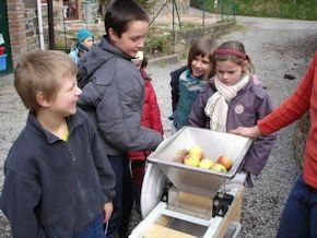 Volunteer on an educational farm (www.cadip.org)