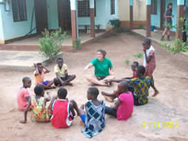 Volunteer in Togo