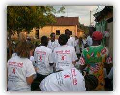 Volunteer in Togo (www.cadip.org)