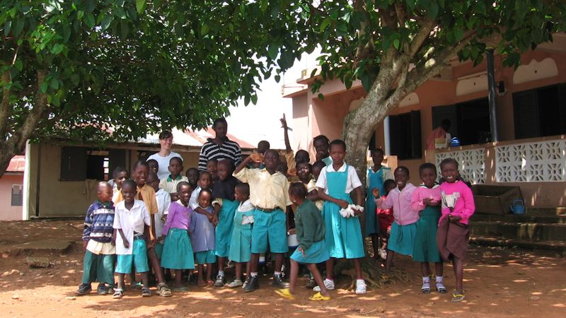 Internationa volunteer projects in Ghana