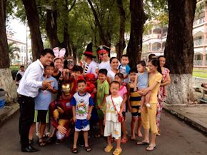 Volunteer in Vietnam with Cadip