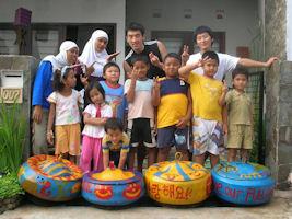 Volunteer in Indonesia
